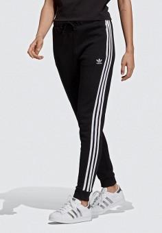 13290ce2 Брюки спортивные, adidas Originals, цвет: черный. Артикул: AD093EWEESN6.  Одежда /
