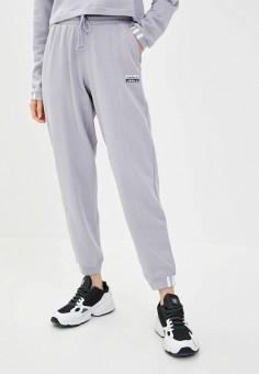Брюки спортивные, adidas Originals, цвет: серый. Артикул: AD093EWJLZR4.