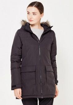 Куртка утепленная, adidas, цвет: черный. Артикул: AD094EWUOG57. Одежда / Верхняя одежда / Демисезонные куртки
