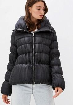Пуховик, Add, цвет: черный. Артикул: AD504EWKGNZ0. Одежда / Верхняя одежда / Демисезонные куртки