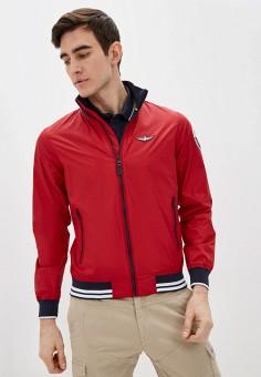Куртка, Aeronautica Militare, цвет: красный. Артикул: AE003EMHKXV8.