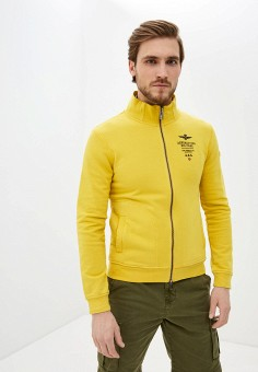 Олимпийка, Aeronautica Militare, цвет: желтый. Артикул: AE003EMHOVJ6.