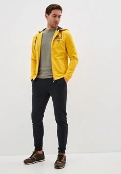 Костюм спортивный, Aeronautica Militare, цвет: желтый, серый. Артикул: AE003EMHOVK2.