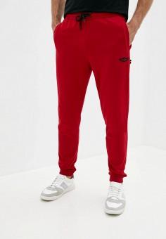 Брюки спортивные, Aeronautica Militare, цвет: красный. Артикул: AE003EMJRNZ0. Одежда / Брюки