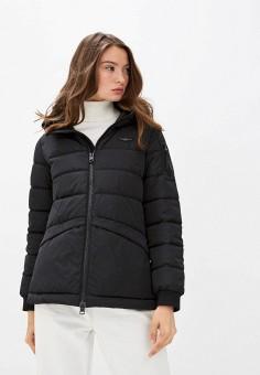 Куртка утепленная, Aeronautica Militare, цвет: черный. Артикул: AE003EWJRNQ2. Одежда / Верхняя одежда / Демисезонные куртки
