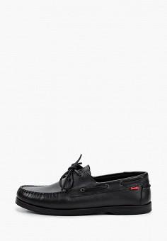 Топсайдеры, Affex, цвет: черный. Артикул: AF003AMHLTU5. Обувь / Мокасины и топсайдеры