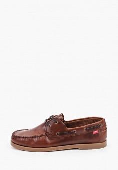 Топсайдеры, Affex, цвет: коричневый. Артикул: AF003AMHLTU6. Обувь / Мокасины и топсайдеры