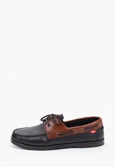 Топсайдеры, Affex, цвет: черный. Артикул: AF003AMHLTU7. Обувь / Мокасины и топсайдеры