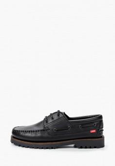 Топсайдеры, Affex, цвет: черный. Артикул: AF003AMHLTV3. Обувь / Мокасины и топсайдеры