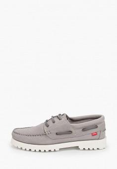 Топсайдеры, Affex, цвет: серый. Артикул: AF003AMHLTV5. Обувь / Мокасины и топсайдеры