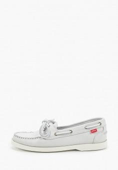 Топсайдеры, Affex, цвет: белый. Артикул: AF003AWKFGE7. Обувь / Мокасины и топсайдеры