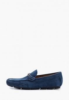 Мокасины, Aldo, цвет: синий. Артикул: AL028AMITBN3.
