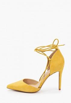 Туфли, Aldo, цвет: желтый. Артикул: AL028AWISCF7.
