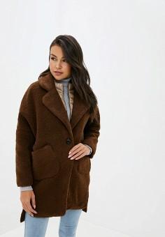 Шуба, Allegri, цвет: коричневый. Артикул: AL030EWGSBM3. Одежда / Верхняя одежда / Шубы и дубленки