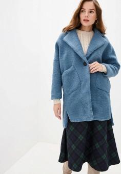 Шуба, Allegri, цвет: синий. Артикул: AL030EWGSBM4. Одежда / Верхняя одежда / Шубы и дубленки