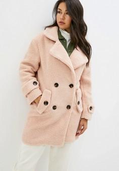 Шуба, Allegri, цвет: розовый. Артикул: AL030EWGSBN0. Одежда / Верхняя одежда / Шубы и дубленки