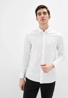 Рубашка, AllSaints, цвет: белый. Артикул: AL047EMIBLV7. Одежда / Рубашки