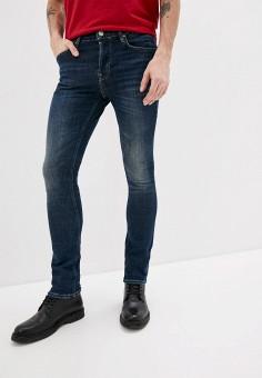 Джинсы, AllSaints, цвет: синий. Артикул: AL047EMIBLV9. Одежда / Джинсы / Зауженные джинсы