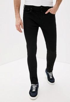 Джинсы, AllSaints, цвет: черный. Артикул: AL047EMIBLW0. Одежда / Джинсы / Прямые джинсы
