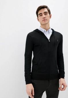 Кардиган, AllSaints, цвет: черный. Артикул: AL047EMIOXN0. Одежда / Джемперы, свитеры и кардиганы / Кардиганы