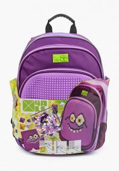 Рюкзак, 4All, цвет: фиолетовый. Артикул: AL052BGKKRI1. Девочкам / Аксессуары