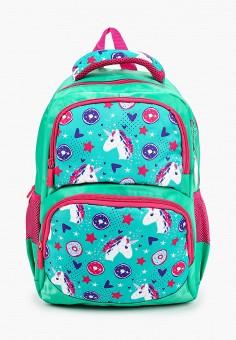 Рюкзак, 4All, цвет: бирюзовый. Артикул: AL052BGKKRJ2. Девочкам / Аксессуары