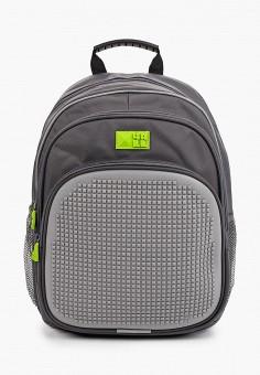 Рюкзак, 4All, цвет: серый. Артикул: AL052BKKKRI4. Девочкам / Аксессуары