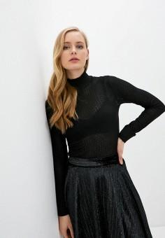 Водолазка, Alice + Olivia, цвет: черный. Артикул: AL054EWIBUB0. Одежда / Джемперы, свитеры и кардиганы / Водолазки