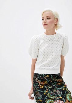 Джемпер, Alice + Olivia, цвет: белый. Артикул: AL054EWJKTP8. Одежда / Джемперы, свитеры и кардиганы / Джемперы и пуловеры / Джемперы