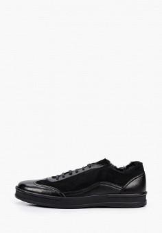 Ботинки, Aldo Brue, цвет: черный. Артикул: AL232AMJEMU8. Обувь / Ботинки / Низкие ботинки