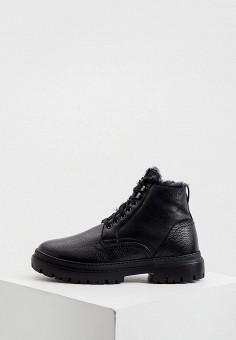 Ботинки, Aldo Brue, цвет: черный. Артикул: AL232AMKFGB1. Обувь / Ботинки