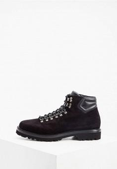 Ботинки, Aldo Brue, цвет: черный. Артикул: AL232AMKFGB3. Обувь / Ботинки