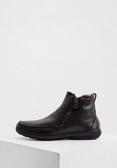 Ботинки, Aldo Brue, цвет: коричневый. Артикул: AL232AMKFGB5. Обувь / Ботинки