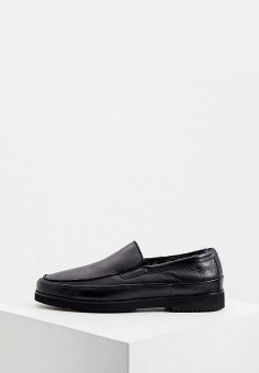 Мокасины, Aldo Brue, цвет: черный. Артикул: AL232AMKFGB7. Обувь / Мокасины и топсайдеры