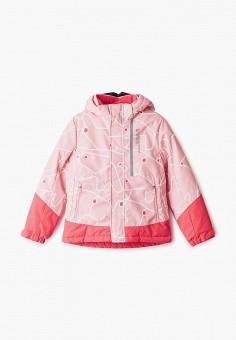 Куртка утепленная, Anta, цвет: розовый. Артикул: AN225EGGURE7. Девочкам / Одежда / Верхняя одежда / Куртки и пуховики