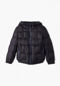 Куртка утепленная, Antony Morato, цвет: черный. Артикул: AN511EBJRDQ6. Мальчикам / Одежда / Верхняя одежда