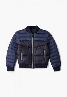 Куртка утепленная, Antony Morato, цвет: синий. Артикул: AN511EBJRDQ7. Мальчикам / Одежда / Верхняя одежда