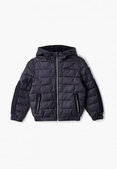 Куртка утепленная, Antony Morato, цвет: синий. Артикул: AN511EBJRDQ8. Мальчикам / Одежда / Верхняя одежда