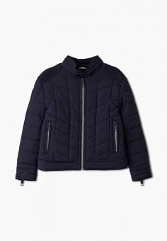 Куртка утепленная, Antony Morato, цвет: черный. Артикул: AN511EBJRDQ9. Мальчикам / Одежда / Верхняя одежда / Куртки и пуховики