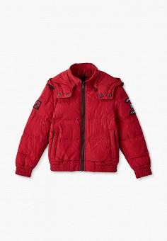 Куртка утепленная, Antony Morato, цвет: красный. Артикул: AN511EBJRDR2. Мальчикам / Одежда / Верхняя одежда