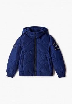 Куртка утепленная, Antony Morato, цвет: синий. Артикул: AN511EBJRDR3. Мальчикам / Одежда / Верхняя одежда / Куртки и пуховики