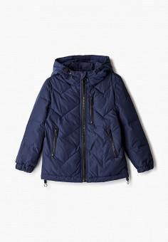 Куртка утепленная, Antony Morato, цвет: синий. Артикул: AN511EBJRDR4. Мальчикам / Одежда / Верхняя одежда / Куртки и пуховики