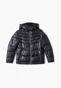 Куртка утепленная, Antony Morato, цвет: черный. Артикул: AN511EBJRDS0. Мальчикам / Одежда / Верхняя одежда