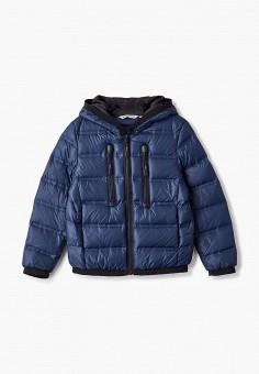 Куртка утепленная, Antony Morato, цвет: синий. Артикул: AN511EBJRDS1. Мальчикам / Одежда / Верхняя одежда / Куртки и пуховики