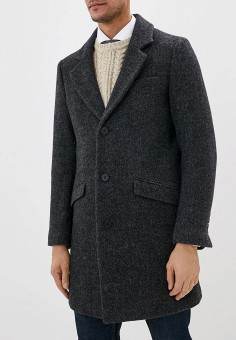 Пальто, Antony Morato, цвет: серый. Артикул: AN511EMGOPM0. Одежда / Верхняя одежда / Пальто
