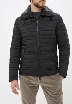Куртка утепленная, Antony Morato, цвет: черный. Артикул: AN511EMGOPM4. Одежда / Верхняя одежда / Демисезонные куртки