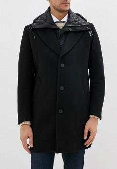 Пальто, Antony Morato, цвет: черный. Артикул: AN511EMGOPM6. Одежда / Верхняя одежда / Пальто