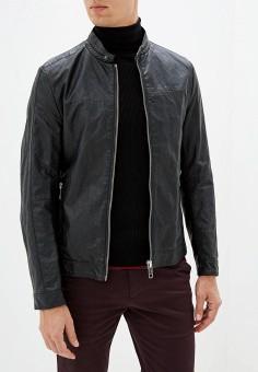 Куртка кожаная, Antony Morato, цвет: черный. Артикул: AN511EMGOPN2. Одежда / Верхняя одежда / Кожаные куртки