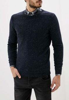 Джемпер, Antony Morato, цвет: синий. Артикул: AN511EMGOPP0. Одежда / Джемперы, свитеры и кардиганы / Джемперы и пуловеры