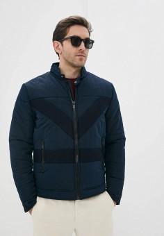 Куртка утепленная, Antony Morato, цвет: синий. Артикул: AN511EMHOIW4. Одежда / Верхняя одежда / Демисезонные куртки